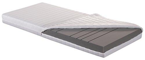 Betten ABC 7 Zonen Kaltschaummatratze OrthoMatra KSP-500 XXL / Stabile orthopädische Matratze in 180 x 200 cm - Härtegrad H4 für Personen ab 100 kg / Allergikergeeignet
