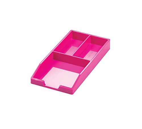 Avery ColorStak Bits and Bobs Tray Cool Pink CS303 (Schmuck Trays Stapelbar)