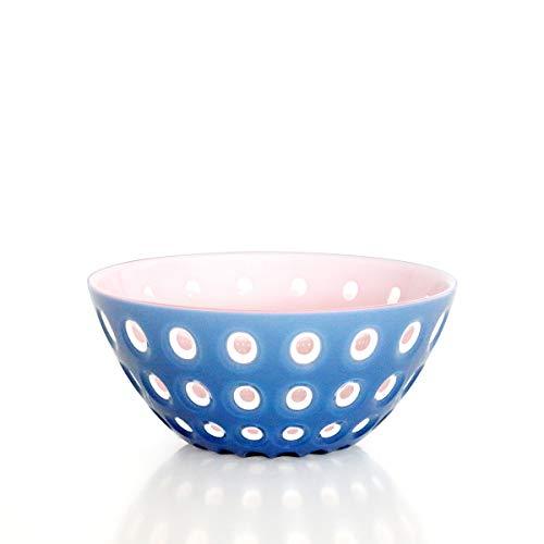 Guzzini - 279420160 - SALADIER 20 CM Le MURRINE Bleu Rose