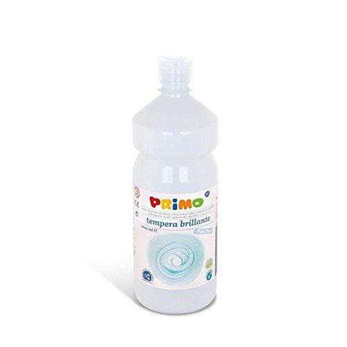 Schulmalfarben Tempera Farbe mit Dosierverschluss, 1000 ml Flasche, weiß