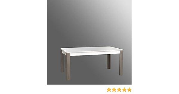 Générique Calimero Cm Et A 12 207x90 Manger Sonoma 8 160 Blanc Extensible Personnes Décor Chene Table 76vbIYgfy