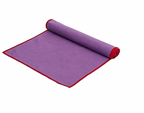 Schnelle Trocknung Super Saugfähig Badetuch Schnelltrocknende Handtuch Body Building Schwimmen Wischen Haar Schnelltrocknende Handtuch Handtuch Violett