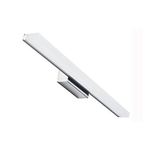 LIGHT YEARS Im Europäischen Stil LED Badezimmer Spiegel Scheinwerfer, Retro Wasserdicht Anti-Fog Aluminium + Acryl Spiegel Schrank Make-up Lampe (Farbe : Warmes Licht, größe : 60cm)