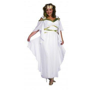 Römerin Schönheit Kostüm für Damen Gr. XL, (Erwachsene Kostüme Schönheit Römische)