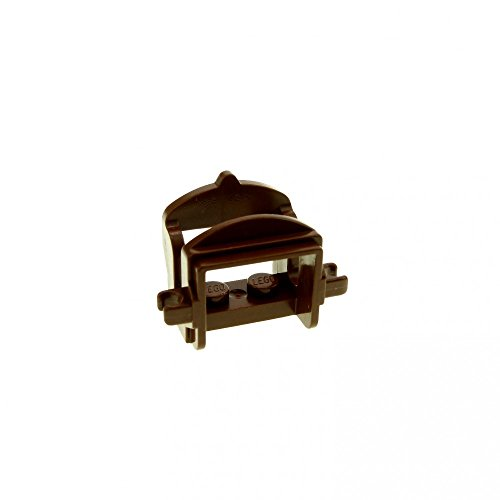 brauner Pferdesattel braun Pferd Sattel 1 Klipp Castle Ritter Lego B37