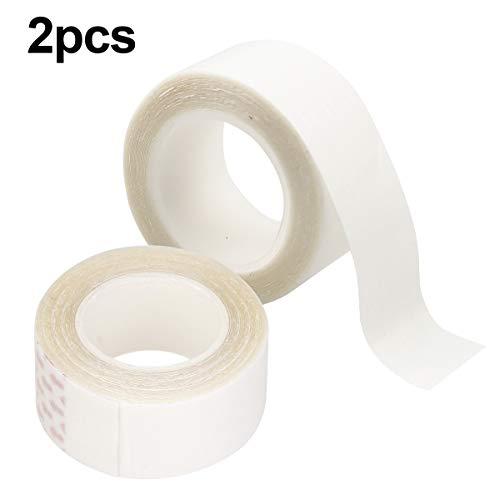 Natuce 2PCS 6 Metros Cinta Adhesiva Doble Cara Peluca