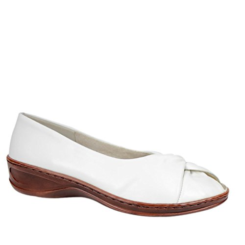 Jenny Catania Damen Pumps Weiß