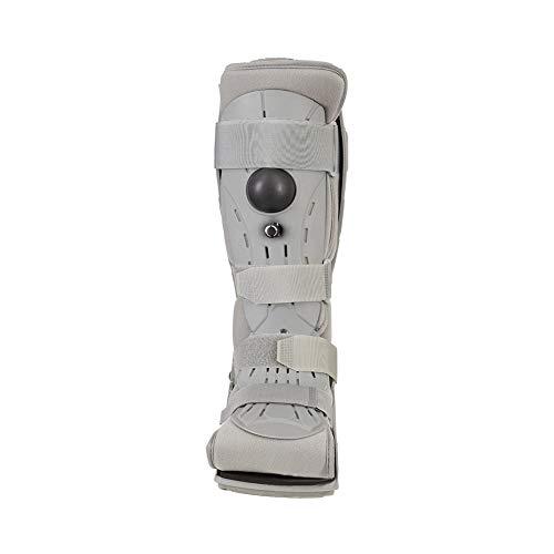 Lite Walker Schuh (WANGXN Fuß-Fraktur-Klammer-Unterstützung Schutz Verletzungen, Verstauchung, reduziert Schwellungen, Rehabilitation Light Knöchel-Walker,L)
