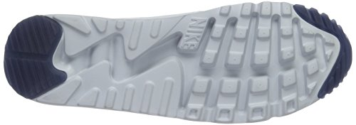 Nike Air Max 90Ultra Moire, Herren Sneakers, knöchelfrei Sneakers Blau (Obsidian/Obsidian/Pure Platinum)