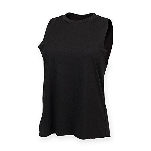 SF - T-shirt -  Femme Noir - Noir