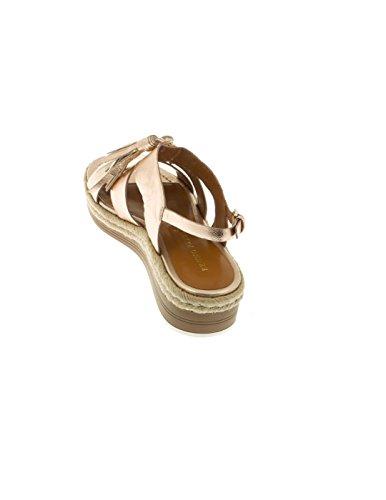 Rosa Bruno Premi sandales Laminato Rose