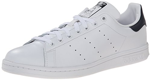 adidas Stan Smith, Low-Top Chaussures mixte adulte Blanc (White/Night Indigo)