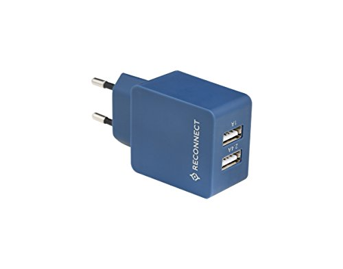 Best reconnect power bank in India 2020 Reconnect Dual USB Wall Adapter: Dual USB Port, Quick Charging Image 3