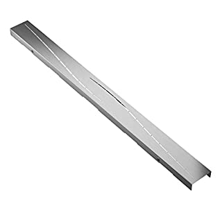 Cover for shower drain channel AQUABAD® SDS Pro 800 mm / Design: MODERN (COVER ONLY!) / Made of stainless steel