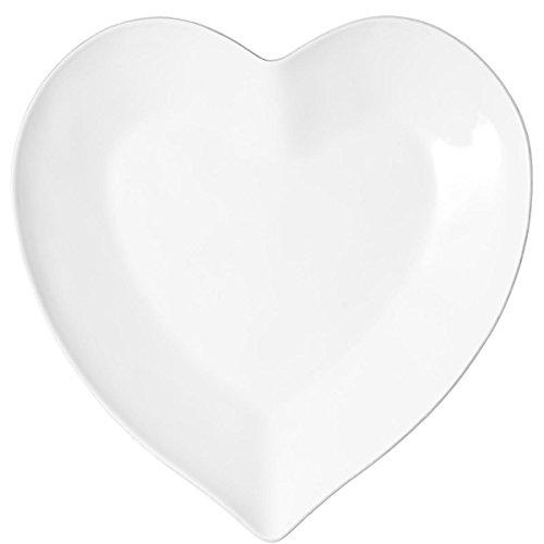 BUTLERS HEART Herzteller 28cm romantisches Geschirr aus Porzellan