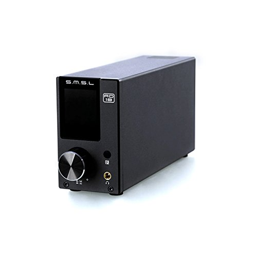 dsp hifi SMSL AD18 80W2 Bluetooth 4.2 HIFI USB DSP Digital Decoding Power Amplifier