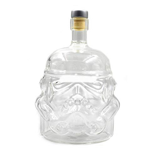 gfjfghfjfh Transparent Creative Whiskey Flask Decanter Stormtrooper Bottle Glass Glass Decanters Wine Glass