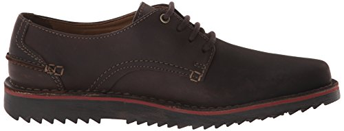 Clarks Remsen Limite Oxford Dark Brown Leather
