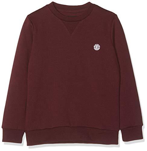 Element Jungen Cornell Classic CR Sweatshirt, Napa red, 10 Element-fleece-sweatshirt
