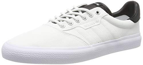 adidas 3Mc, Scarpe da Skateboard Unisex Adulto, Bianco Ftwr White/Core Black/Silver Met, 41 1/3 EU