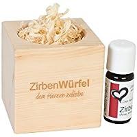 Zirben-/Arveduftwürfel 'Fresh Cube' inklusive Zirbenöl preisvergleich bei billige-tabletten.eu