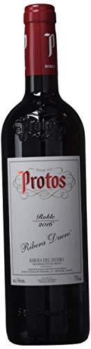 Protos Vino Roble Joven Tinto - 3 Paquetes De 750 Ml - Total: 2250 Ml
