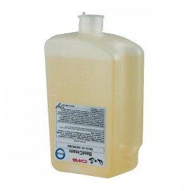 CWS Seifenschaumspender Paradise Foam Slim 500 mit Easy-Cleaning und Click-in-Bottle System, mit Schloss und Einhandzughebel, für 500 ml, weiß -