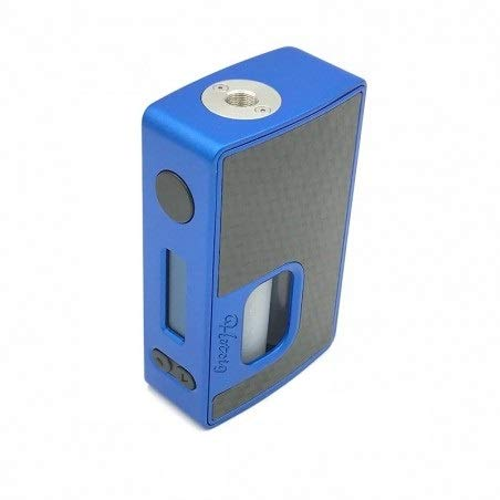 Hcigar Technology Co - Hotcig & Rig Mod Box elettronica per sigaretta elettronica RSQ 80W, chip HM con funzione Light LED RGB e bottiglia squonk da 7 ml (Blu)