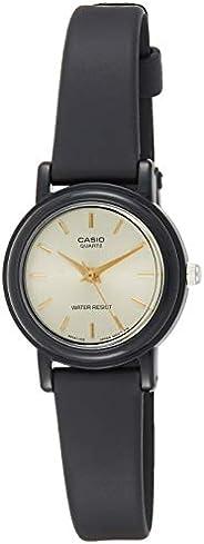 Casio Women's Beige Dial Resin Analog Watch - LQ-139EMV-9