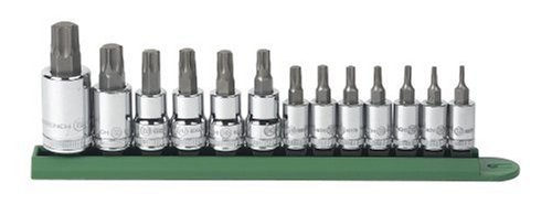 GearWrench 80725 13 Piece Torx Tamper Socket Set by Apex Tool Group