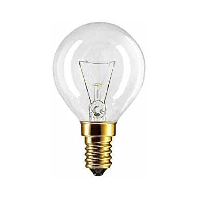 2 X Backofenlampe P45X78 40 Watt E14 klar - Philips von Philips