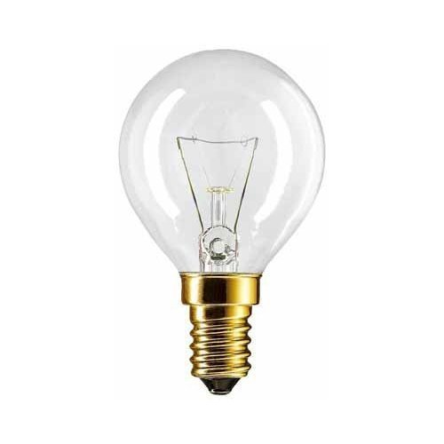 2 X Backofenlampe P45X78 40 Watt E14 klar - Philips -