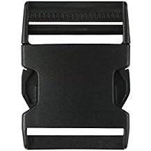 Cdet 10X Plástico side liberación hebillas doble ajustable acolchado patrulla cinturón táctico correas cincha