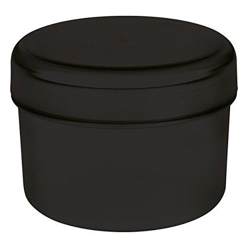 Koziol Rio Vorratsdose mit Deckel, Aufbewahrungsdose, Frischhaltedose, Kunststoff, Cosmos Black, 8...