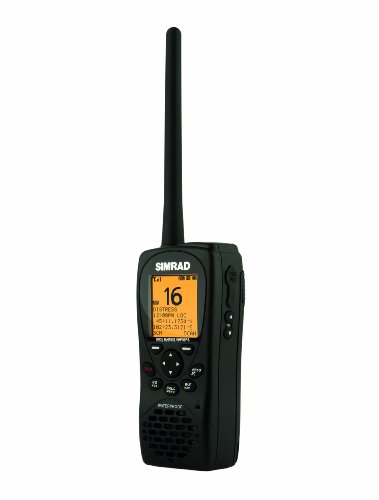 Simrad HH36 PDA, GPS, DSC/UKW-Radio, schwarz, -