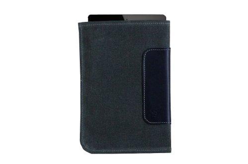 DODOcase DD021005 Used Look Durables Wallet für Apple iPad mini navy