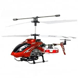 Avatar F163 4 CH RC Remote Control Helicopter with Gyro RTF Heli Toy --- Color:Red