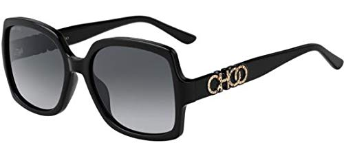 Jimmy Choo Sonnenbrillen Sammi/G/S Black/Grey Shaded Damenbrillen