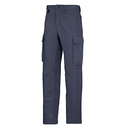 Snickers - Service - Pantaloni da Lavoro - Uomo (35' - 89 cm) (Blu Navy)