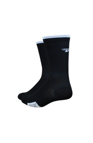 Defeet - Chaussettes Defeet Cyclismo Stripe noir - L: 43-45,5 (Socke Defeet Speede Bike)