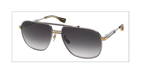 ab93f02a883 Dita Victoire Sunglasses DRX-2049A-SLV-GLD-60  Amazon.co.uk  Clothing
