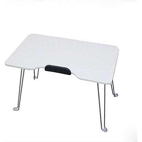 KHSKX Pieghevole portatile scrivania, tavolo multifunzionale impermeabile resistente al calore