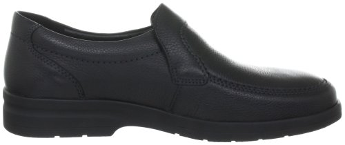 Mephisto JAKIN NATURAL 7200 Herren Slipper Schwarz (BLACK NATURAL 7200)
