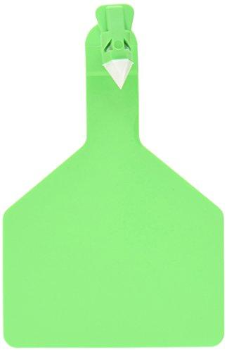 Etiquetas Z 25hilos 1pieza Etiquetas en blanco para vacas, verde