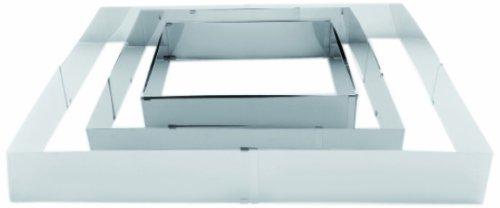 IBILI 790600 - Molde extensible rectangular Inox (20x24.38x46 cm)