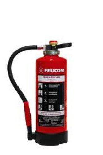 Preisvergleich Produktbild Feuerlöscher 6Kg ABC Pulver Feucom PG6 H-K Löschleistung 43A/183B,12LE