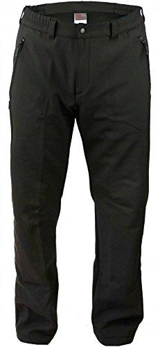 Hot-sport ontario pantalon de marche homme pantalon cargo femme anthracite Noir Noir 26