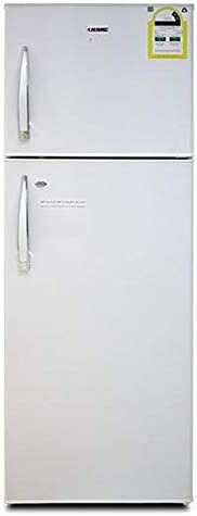 KMC KMF-320H Freezer on Top Refrigerator, 320 Litre Capacity, White