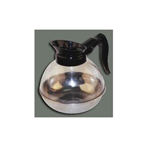 Winco Plastic Coffee Decanter, Stainless Steel, 64-Ounce by Winco USA