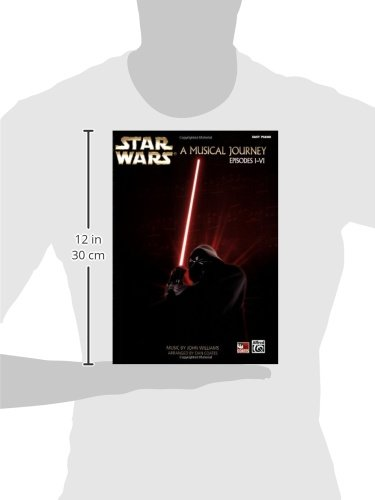 31mjk4p4W%2BL - Star Wars -- A Musical Journey: Music from Episodes I - VI (Easy Piano)